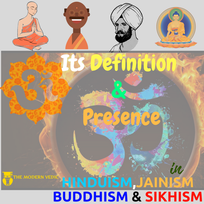 How Is Aum Present In Hinduismjainismbuddhism And Sikhism